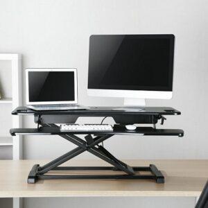 עמדת עבודה הידראולית למסכי מחשב