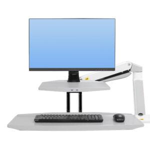 זרוע מתכווננת למסך מחשב